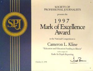 Mark of Excellence Winner
